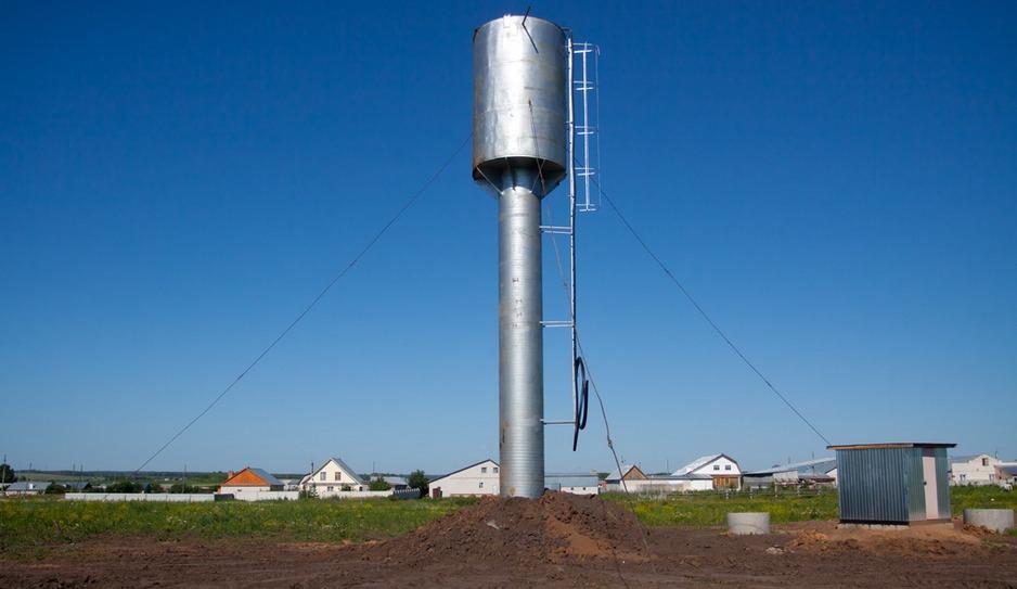 Ремонт и покраска водонапорных башен